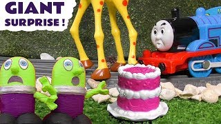 Funny Funlings Fun Giant Animal Surprise   Learn animals with Thomas The Tank Engine TT4U