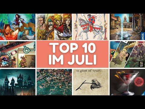 TOP 10 Spiele im Juli + Mega Highlight am letzten Tag!
