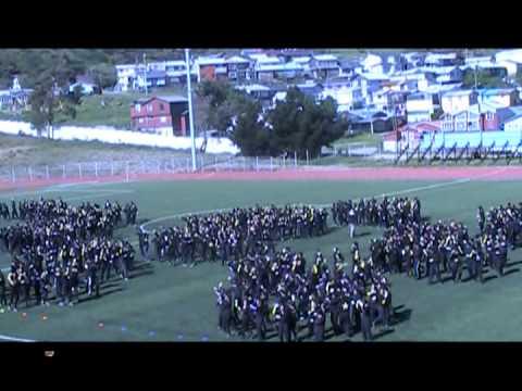 Flashmob Liceo el Pilar 2012   Ancud