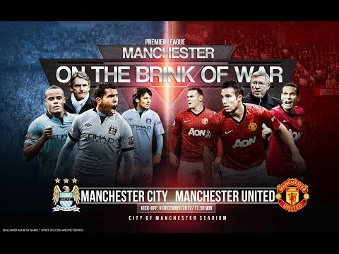 Manchester City vs Manchester United - 