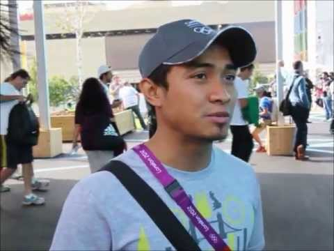 Interview with Azizulhasni Awang at the London Olympics 2012