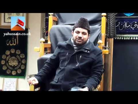 Allama Asif Raza Alvi of Faisalabad | Hussainia Imambargah - Birmingham (UK) - 30th November 2015