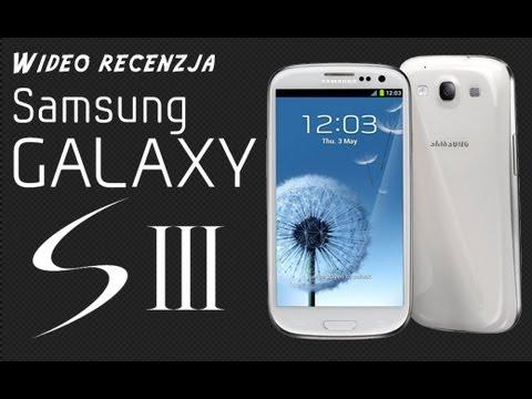 Samsung Galaxy S3 (JB 4.1.2) - Wideo recenzja na FrazPC.pl