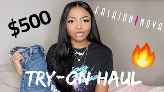 $500 FASHION NOVA TRY-ON HAUL!