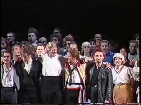 Les Miserables - Derniere Duisburg 28.11.1999 - Zugabe: Lied des Volkes