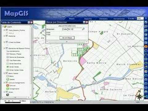 Buscar Direcciones (MapGis)