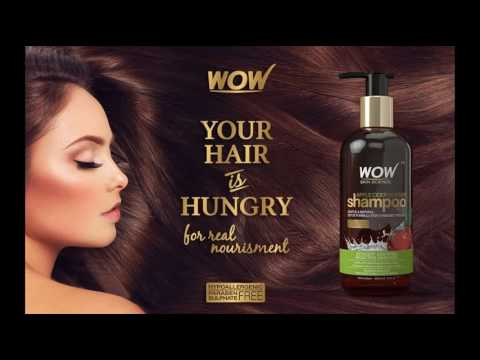 WOW Apple Cider Vinegar Shampoo Review -  Discount