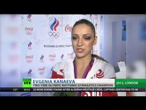 Kanaeva Tribute as Olympic great quits gymnastics