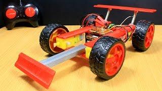 How To Make Remote Control Car - RC Car