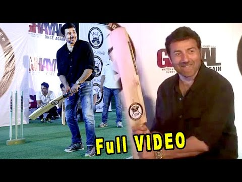 Sunny Deol Team Ghayal Once Again Vs Team Bcl Punjab Match At Tiger Play