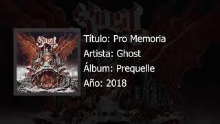 Ghost - Pro Memoria  (Prequelle)