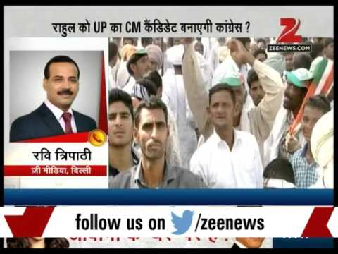 Breaking News - Congress can present Rahul Gandhi as the next CM candidate of UP