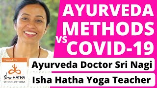 COVID-19 preparation with Ayurveda Doctor Sri Nagi