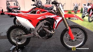 2017 Honda CRF450RX - Walkaround - 2017 Toronto Motorcycle Show