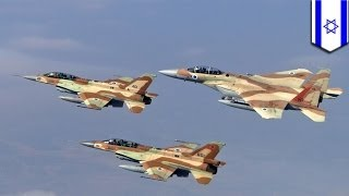 Israel Strikes Syria-Lebanon Border 1/30/13