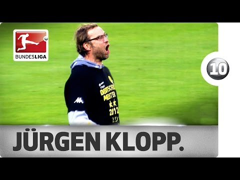 Jürgen Klopp - Top 10 Celebrations