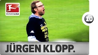 Jürgen Klopp - Top 10 Celebrations