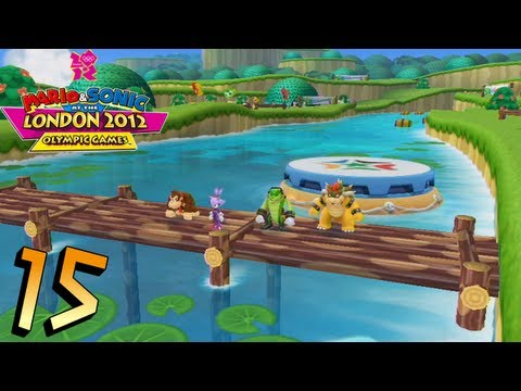Mario and Sonic at the London 2012 Olympic Games: Part 15 - Dream Rafting
