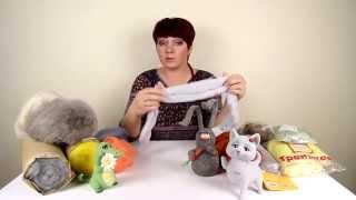 Обзор виды шерсти для сухого валяния / Overview of types of the wool for  needle felting wool