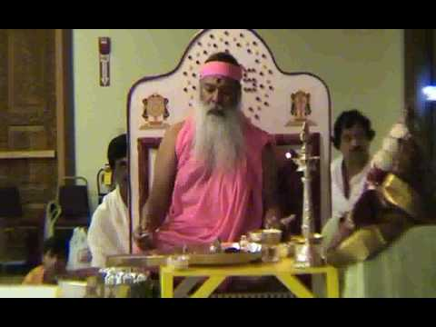 Sri Chakra Puja - Performed by His Holiness Sri Swamiji in Boston, MA USA 25th July 2009
