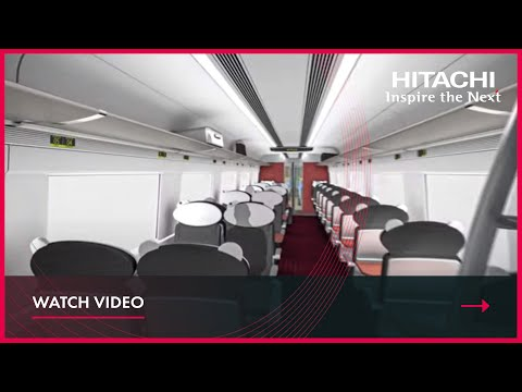 Intercity Express Train CGI from Hitachi Rail Europe