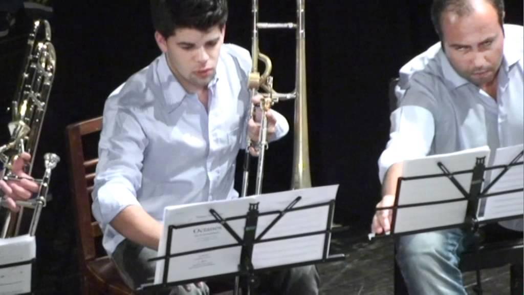 Contrabass Trombone vs Tuba 2 Contrabass Tuba Drums
