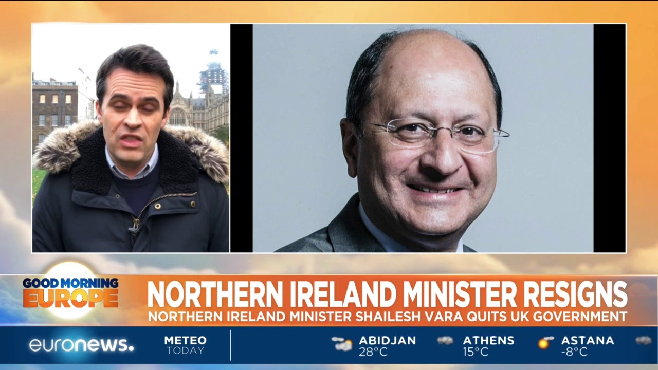 Northern Ireland Minister Shailesh Vara resigns | #GME