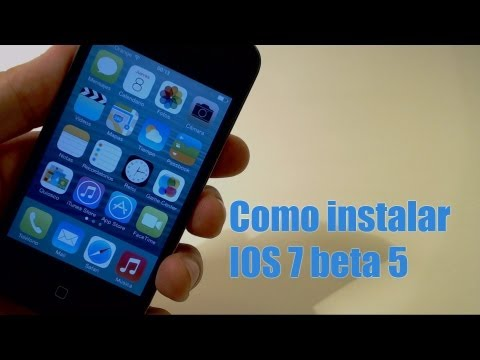 Instalar iOS 7 beta 5 gratis en iPhone 5/4s/4. iPod Touch 5g y iPad/Mini 2013 español