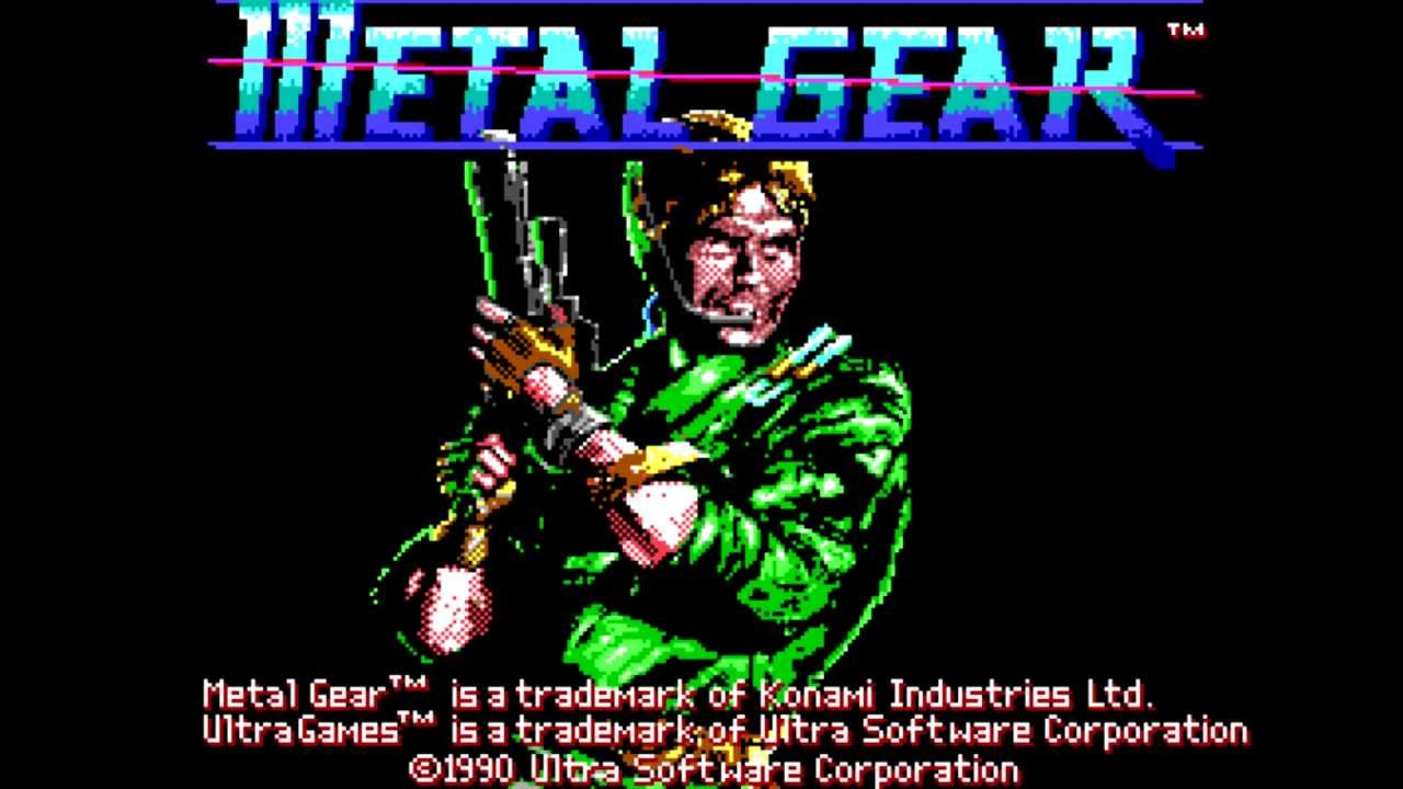 Metal Gear Nes Wallpaper Metal Gear Theme Remix Msx