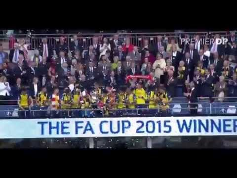 Arsenal Win FA Cup 2015 Celebration Winning Moments HD 720p Arsenal vs Aston Villa 4-0 2015