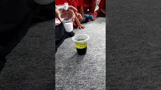 Science Experiment K-A Coral with Mrs. Santi