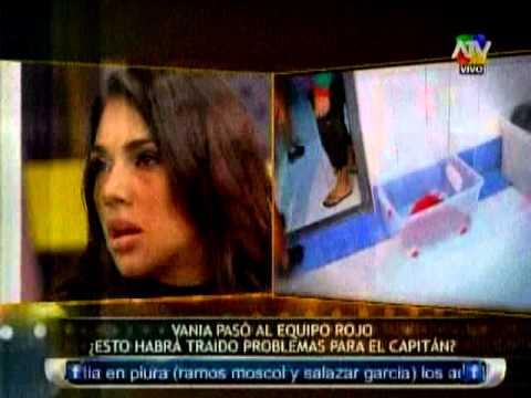 Vania Bludau Y Christian Domínguez Protagonizan Calurosa Discusión