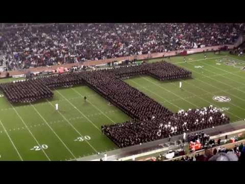 Fightin' Texas Aggie Band Halftime Drill - Missouri Game at Kyle Field on November 15, 2014