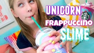 DIY Unicorn Frappuccino Slime | Shopping for Slime Recipe at Michaels