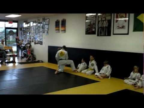 Kids 2013  BJJ Training Video 6