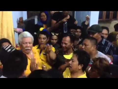 Ribuan pendukung Imba Bobi guncang kediaman Imba