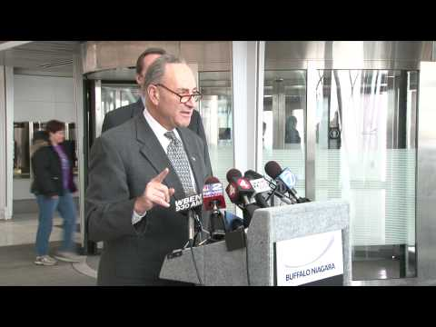 Senator Schumer on International Flight Safety Measures