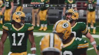Madden NFL 19 patriots vs packers super bowl 53 1st half