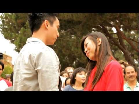 OFFICIAL Trang and Nam Proposal Flash Mob at UCLA 9-24-11 Music Videos
