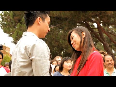 OFFICIAL Trang and Nam Proposal Flash Mob at UCLA 9-24-11