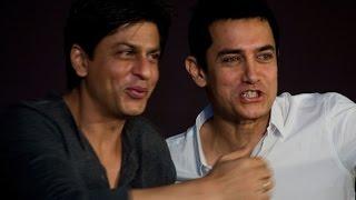 এবার আমির-শাহরুখ একসঙ্গে! II Amir Khan and Shahruk Khan In a Stage