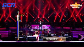 """Erick Sihotang """"I Dont Want To Talk About It"""" Rod Stewart - Rising Star Indonesia Eps 5"""
