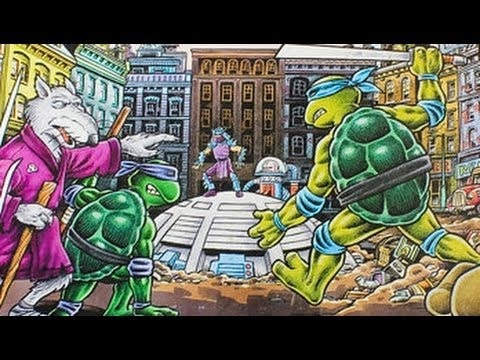Board James - TMNT Games - Cinemassacre.com