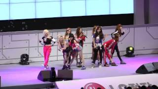 [Fancam] 130407 SNSD - Dancing Queen, Gee, I got a boy@LG Cinema 3D World Festival
