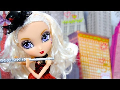 How to Make a Doll Flute with a Case