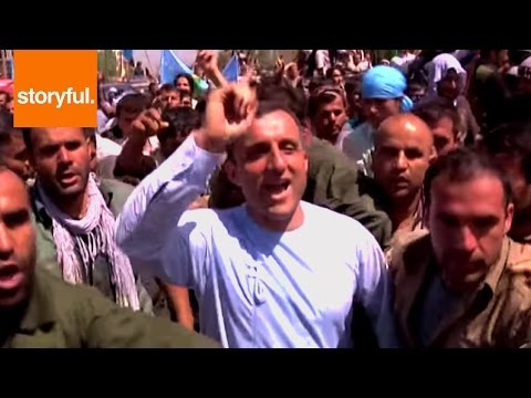 Thousands Gather in Kabul in Support of Presidential Candidate Abdullah