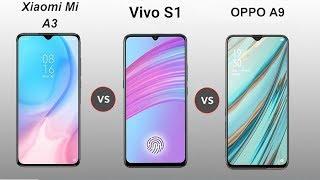 Vivo S1 Vs Xiaomi Mi A3 Vs Oppo A9 Speed Comparison in Hindi