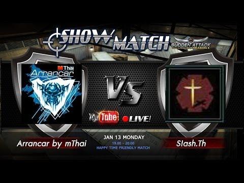 SA2 SHOW MATCH! - แมชไฝว้! มาดูกันใครเจ๋ง! Arrancar by mThai VS S!ashTh