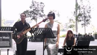 Joanna Dong performs TO MAKE YOU FEEL MY LOVE with The Summertimes Hotshots