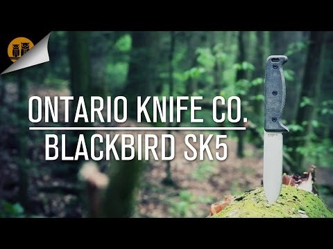 Ontario Knife Co. BlackBird SK-5 Knife Review